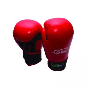 MPS Boxing Gloves Colour Red/Blue