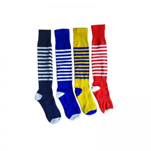 Football Stocking/Soccer Stocking 4 Pair Combo Set Socks