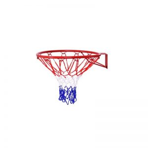 "Basketball Hoop with All Weather Net Wall Mounted ""18"""