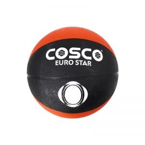 Cosco Basketball Orange/Black Euro Star S-5