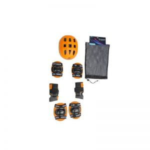 Yonker Skating Protective 4 in 1 Kit Orange Color