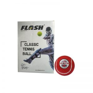 Flash Cricket Tennis Ball Pack of 6 Pcs