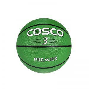 Cosco Basketball Premier Green Color Size 3