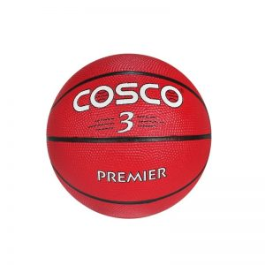 Cosco Basketball Premier Red Color Size 3