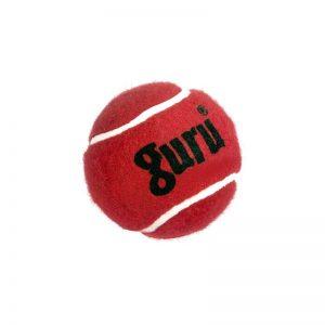 Guru Cricket Tennis Ball Red and Yellow Heavy
